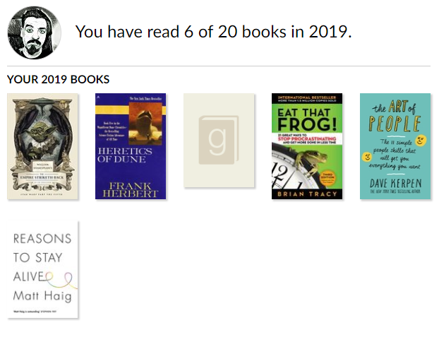 Goodreads 2019 Q1 challenge update.PNG
