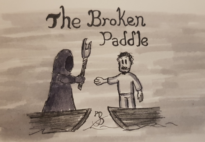 The Broken Paddle