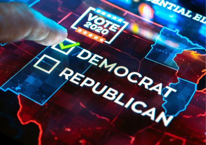 Democrats vote