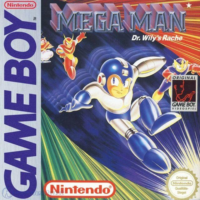 Mega Man Dr Wily's Revenge box art